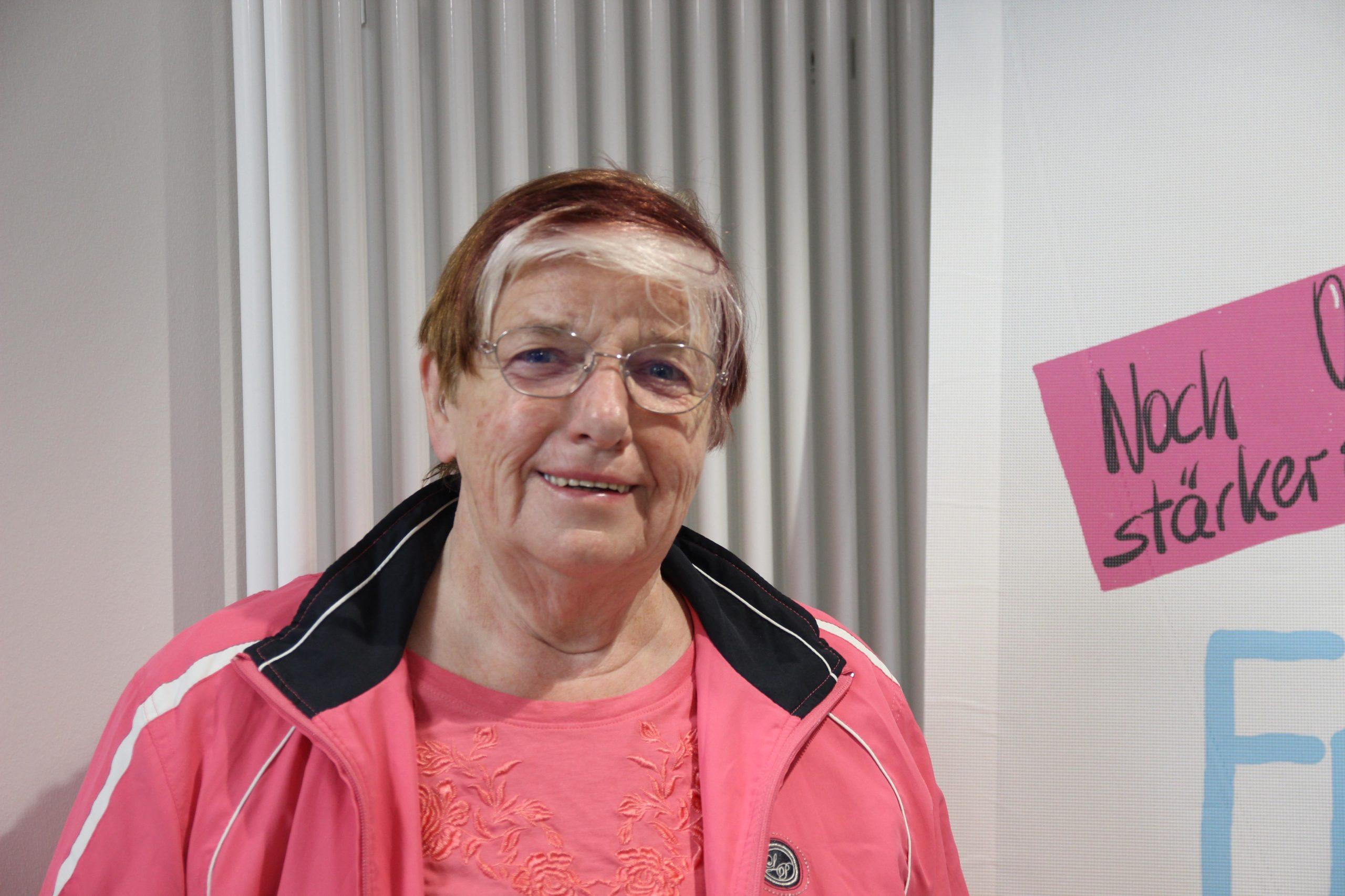 Christa Brandt (72) aus der Wedemark